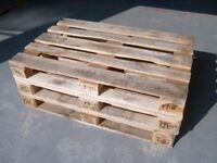Pallets for sale, all kept in dry storage, buy 1 for £2 or 10 for £10
