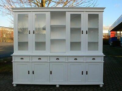 Ladenwand Ladeneinrichtung Bibliothek Bücherwand Landhaus Stil massiv