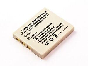 Batteria-per-PENTAX-OPTIO-L20-S-S4-4-PW-Ioni-di-Litio