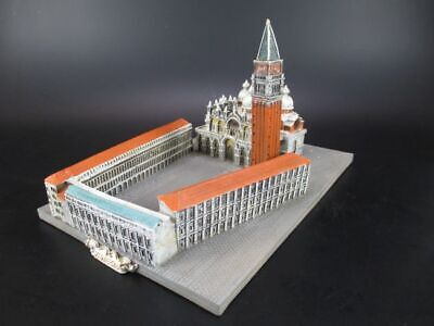 Plaza de San Marcos Venecia, Piazza San Marco, 23 cm Modelo Italia Italia, Nuevo
