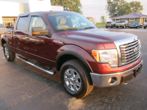 F150 2010 XTL XTR PACKAGE SUPERCREW CAB AWESOME MAROON COLOUR