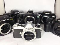 Nikon,Canon, Pentax and Minolta camera bodies for only $10!