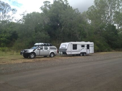 Custom Built 2013 Majestic Knight Series 3 Caravan 19'6 x 7'9 Gracemere Rockhampton City Preview