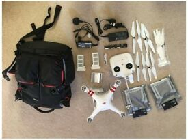 DJI Phantom 3 Standard + Lots of accessories!
