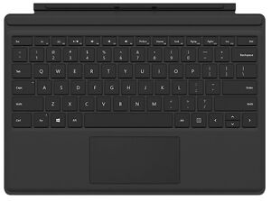 Microsoft Surface Pro 4 Type Cover (also works with surface 3)