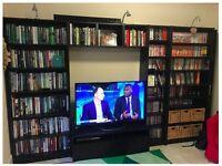 IKEA BILLY BOOKCASE TV COMBINATION