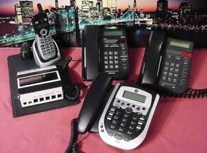 SYSTÈME TÉLÉPHONIQUE COMERCIAL MONOLIGNE + MAILBOX4 TÉLÉPHONES