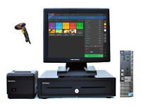 """Full 17"""" Touchscreen Retail and Hospitality EPOS POS Cash Register Till System"""