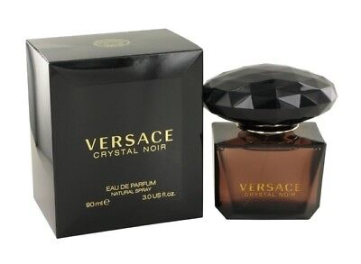 Versace Crystal Noir Women 3.0 3 oz 90 ml Eau De Parfum Spray Nib Sealed