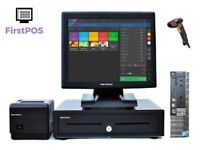 Full Touchscreen Retail and Hospitality EPOS POS Cash Register Till System