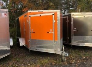 Predator Enclosed Snowmobile Trailers