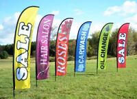 Mobile adver flags , signs