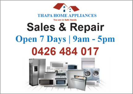 Quality Home Appliances (Brand New, Factory Seconds & Seconds)