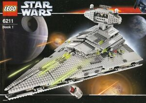Lego 6211 Star Wars impérial destroyer (2006) 100% complet