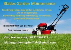 Blades Gardening Sheffield