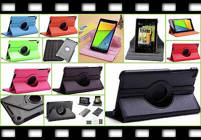 360° Smart Tasche Etui Case Google Nexus 7 FHD 7.2 2013 Flip Schutz hülle Folie ()