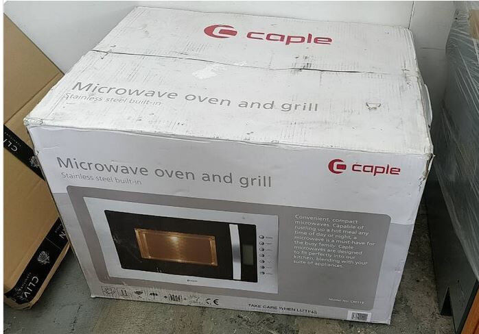 Brand new built-in Caple Microwave CM119