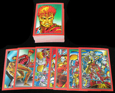 1992 Comic Images Youngblood Trading Card Set (90) NM/MT
