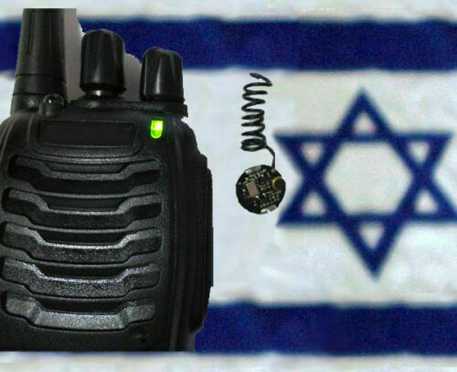 SET Smallest in world UHF FM spy bug microphone MADE IN ISRAEL and UHF RECEIVER