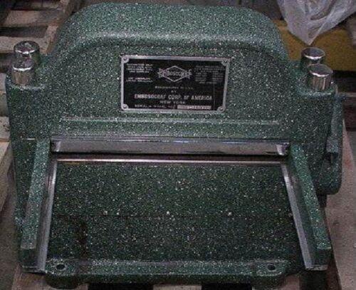 Embosograf L11 Embossing Machine