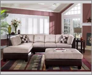 PAY AND PICK UP....ELEPHANT SKIN SECTIONAL SOFA 4 COLORS ON SALE FOR 749$ ONLY..BRAND NEW IN BOX