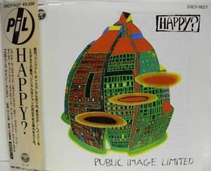 Public Image Limited ‎– Happy? cd japan