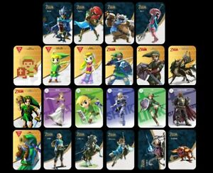 Amiibo Cards For Nintento Switch or WiiU For Sale