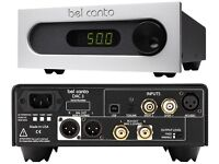 Audiophile BEL CANTO DAC 3 plus free $150 XLR Interconnects