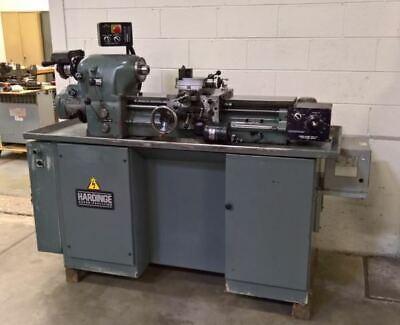 Hardinge Hlv-h Precision Toolmakers Lathe - Lmc 47962
