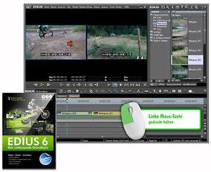 EDIUS 6/7.x und Neo 3.x Grundkurs Lern-DVD