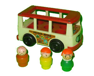 Fisher Price #141 Play Family Mini Bus