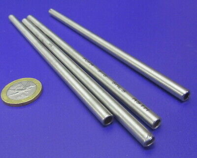 316 Stainless Steel Tube 14 Od X .180 Id X .035 Wall X 6 Length 4 Units
