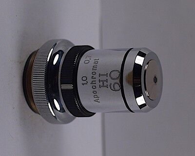Zeiss Hi Apochromat 60x With Iris Apo Microcope Objective