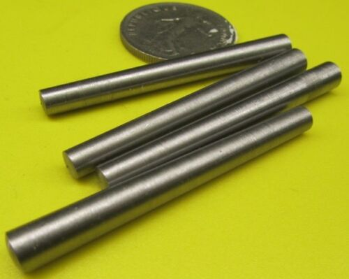 """Steel Taper Pins No. 4 .25 Large End x .203 Small End x 2 1/4"""" Long, 25 Pcs"""