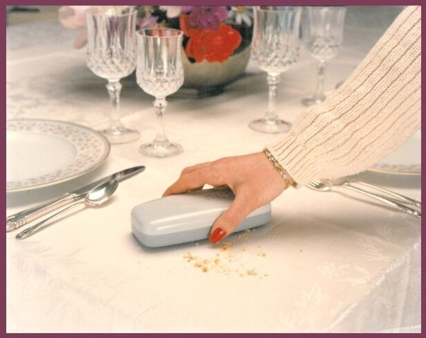 table crumb sweeper catcher tablecloth crumber brush silent butler