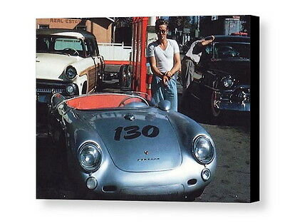 Porsche 550 Spyder James Dean Steve McQueen Triumph Andress  Ltd Ed Print NEW!