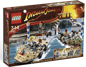 Lego - Indiana Jones 7197 Venice Canal Chase  - NEW