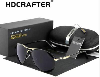 HDCRAFTER Metal Frame Mirrored Polarized Aviator Sunglasses for Men/Women (Polarized Mirrored Aviator Sunglasses For Men)