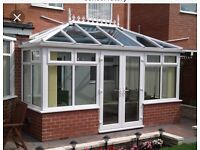 PVC Windows and doors for a conservatory