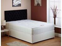 Bed and mattress double orthopedic new