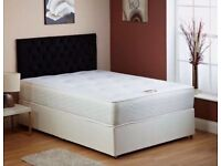 Double bed base and orthopedic mattress -brand new