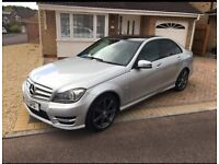 Mercedes C Class C180 AMG Sport Saloon REDUCED - NEED PEOPLES CARRIER