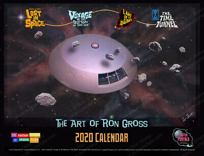 lost in space - The Fantasy Worlds of Irwin Allen - 2020 Calendar - Time Tunnel
