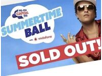 Capital FM Summertime Ball 2x Tickets For The Golden Circle