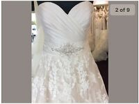 Wedding dress size 20 ex sample
