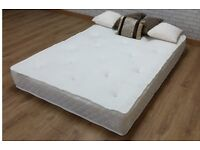 King size orthopaedic memory mattress (near new)