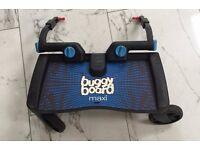 Lascal Maxi Buggy Board - Black/Blue - VGC