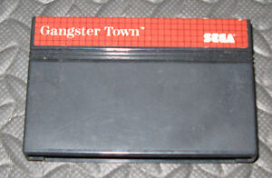 Sega Gangster Town Cartridge
