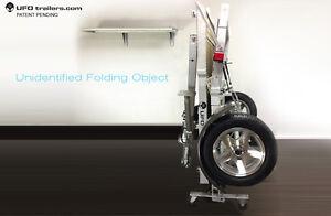 Folding Utility Trailer / WORK BENCH! ..........YES!!