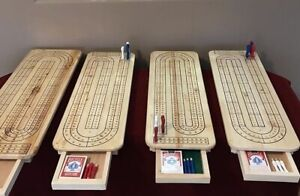 Handcrafted cribbage  boards